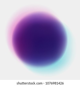 Abstract circle soft gradient