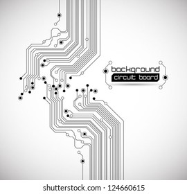 abstract circuit board background texture - vector
