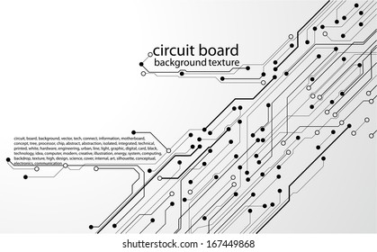 abstract circuit board background texture