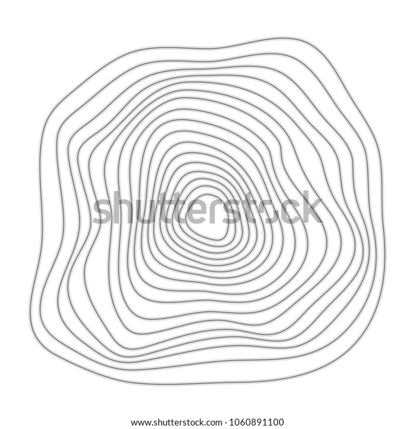 Abstract circular composition. vector illustration isolated illustration