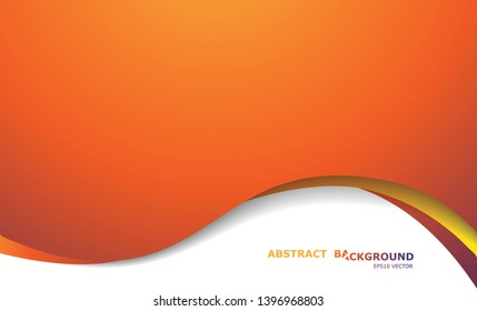 Abstract Classic Curve Background for business card, banner, backdrop. Classic gradient color with waves background design in EPS10 vector illustration.