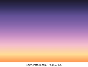 abstract clear twilight sky background gradient