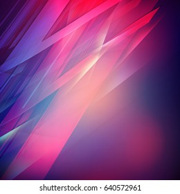 Abstract coloful soft blurred vector background. Futuristic design. Vector illustration