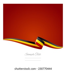 Abstract color background Belgian flag