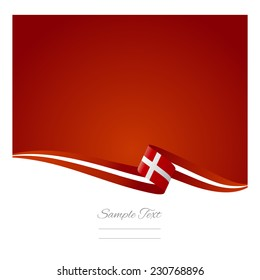 Abstract color background Denmark flag