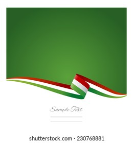 Abstract color background Hungarian flag
