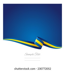 Abstract color background Swedish flag