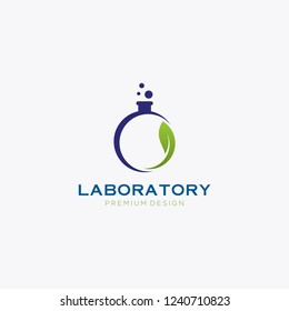 Abstract color lab logo . vector laboratory, chemical, medical test logo, icon.Colorful modern design with bulbs and bottles,science lab logo, illustration of atomic nucleus vector design,