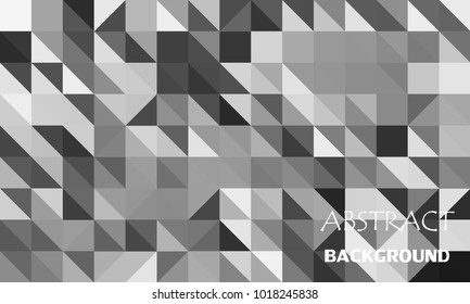 Abstract color mosaic background. Polygonal abstract background