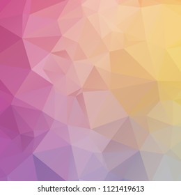 Abstract color polygon texture background