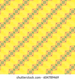 Abstract color seamless pattern for background texture.