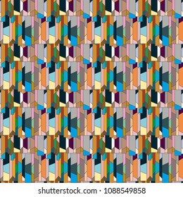 Abstract color seamless pattern for new background. - Shutterstock ID 1088549858