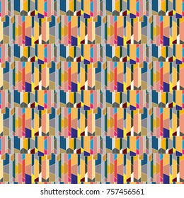 Abstract color seamless pattern for new background. - Shutterstock ID 757456561