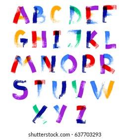 Ripped Paper Font Stock Vectors, Images & Vector Art | Shutterstock