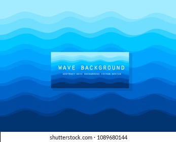 Abstract color waves background for design. Vector wallpaper . wave pattern