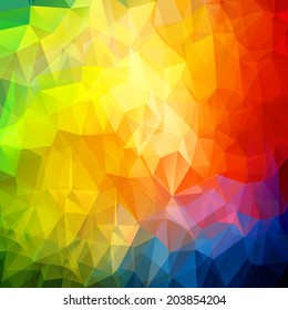 Abstract colored bright summer background. Vector illustration, EPS10.