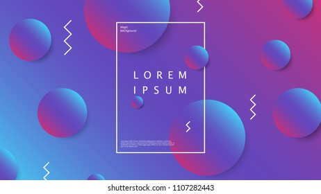 Abstract colored gradient geometric shapes background. Defocused blurred backdrop art for artistic concept works, cover designs and etc. EPS10 vector illustration.