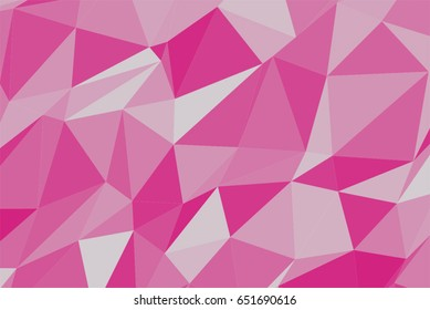 Abstract colored triangle strip shape pattern. Good for web page, wallpaper, graphic design, catalog, texture or background. Vector graphic.