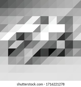 Abstract colored triangle vector background