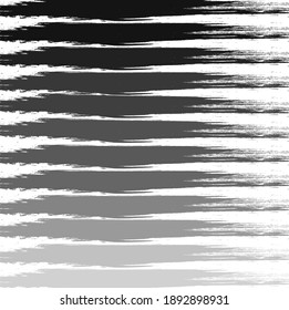 Abstract colorfu black paint brush and strokes, stripes pattern background. colorful nice black brush strokes and hand drawn with horizontal lines background