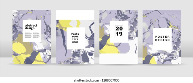 The abstract colorful background. It can be used for posters, cards, flyers, brochures, magazines and any kind of cover. EPS 10