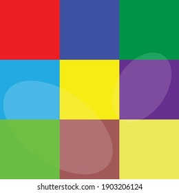 abstract colorful background cubes kids