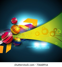 abstract colorful background design illustration