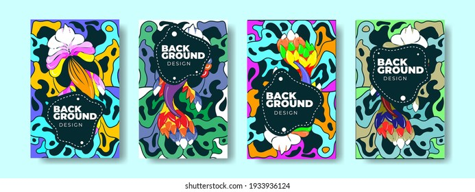 Abstract Colorful Background Vector for Banners, posters, websites, stories and patterns.