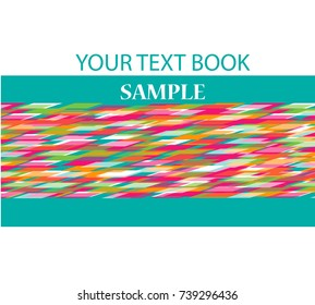 Abstract colorful background from vector, illustration
