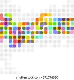 Abstract Colorful background.Vector illustration