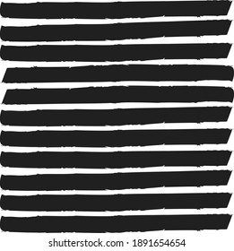abstract colorful black colors paint brush and strokes,  stripes horizontal pattern background. nice black and white colors brush strokes and hand drawn with horizontal lines pattern background