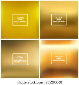 Abstract colorful blurred vector backgrounds. Set timeline template.  Elements for your website, application (app), presentation.