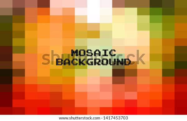 Abstract Colorful Geometric Background Creative Design Stock