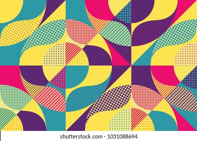 Abstract colorful geometric design. Vector illustration. Can be used for advertising, marketing, presentation.