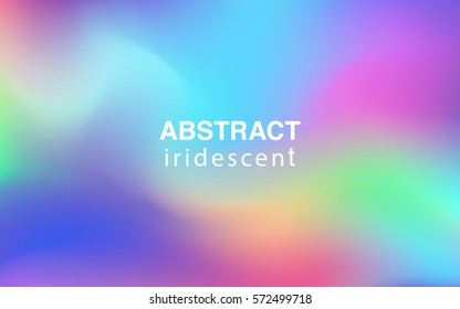 Abstract colorful iridescent background rectangular composition