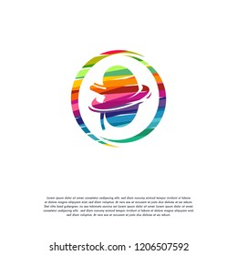 Abstract Colorful Kidney Care logo vector, Health Kidney logo designs template