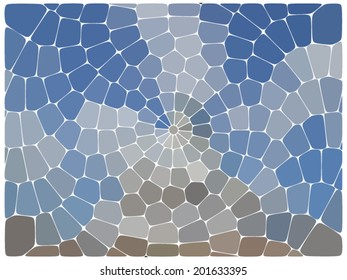 Abstract colorful mosaic pattern