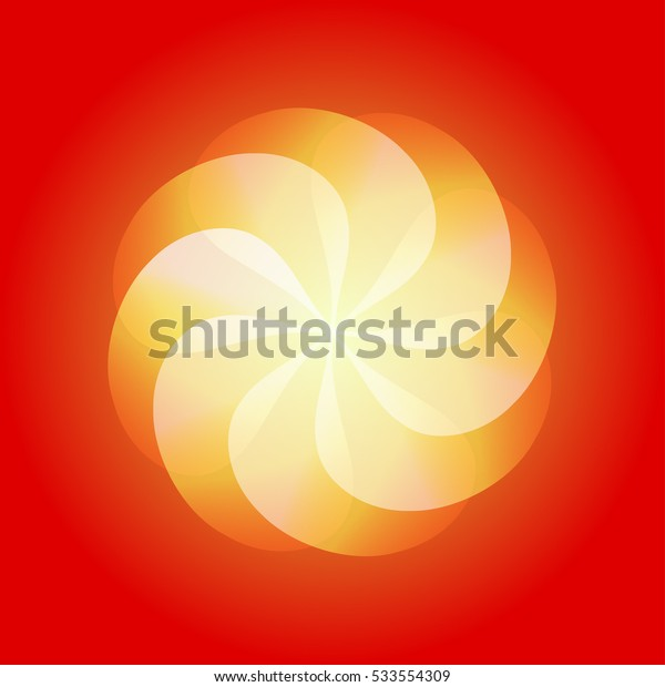 Abstract colorful ornament. Vector element for design.