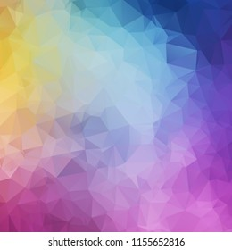 Abstract colorful polyon texture background