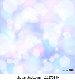 Abstract colorful snow background. EPS10 vector illustration.