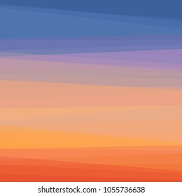 Abstract colorful sunset vector background