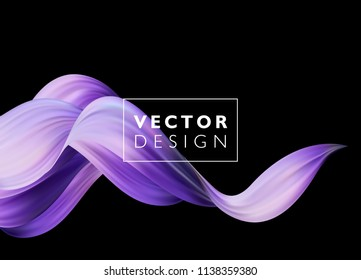 Abstract colorful vector background, color flow liquid wave for design brochure, website, flyer. EPS10