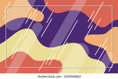 Abstract colorful vector background. Design for business presentation, slideshow, website