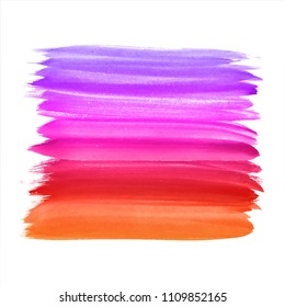 Abstract colorful watercolor design background