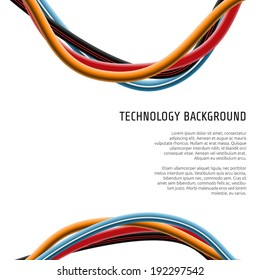 Electrical Wire Background Images Stock Photos Vectors Shutterstock