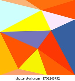 Abstract colourful pattern geometric backgrounds vector design