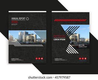 Abstract composition. Art text frame surface. Black a4 brochure cover design. Urban city view title sheet model. Creative vector front page. Ad banner form texture. House figure icon. Flyer fiber font
