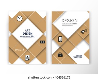 Abstract composition. Beige mosaic square construction. Font texture. Box block puzzle section surface. Brochure title sheet. Creative figure vector art. Commercial offer. Banner form. Flyer fiber.