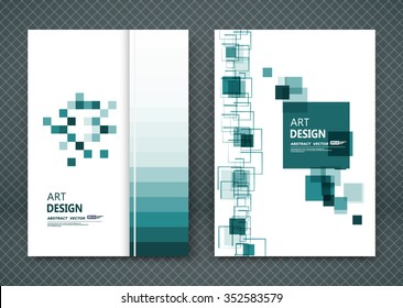 Abstract composition, business card set, square blocks chain collection, a4 brochure title sheet, certificate, diploma, patent, charter, creative text frame surface, figure logo icon backdrop, EPS10