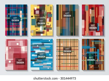 Abstract composition, geometric pattern, line, logo, Brochures, background, EPS 10 vector illustration